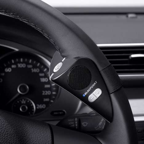 Hands-Free Steering Mounts - This Hands-Free Speaker Allows an Easy Driving Experience