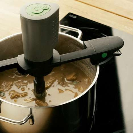 Automated Stirring Devices - The Stirio Helps to Constantly Stir a Pot on the Stove