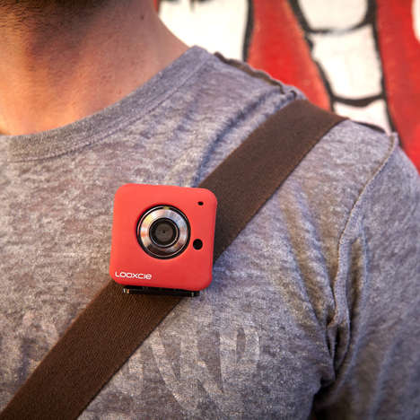 Clip-On Video Cameras - The Looxcie 3 Social Wearable Video Cam Can Easily Clip onto Any Outfit