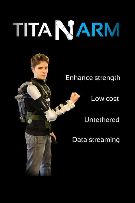 Strength-Enhancing Arm Attachments - The Titan Arm Revolutionizes Heavy Lifting and Healthcare