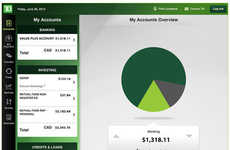Tablet-Based Banking Apps - The TD for iPad App Provides a Secure Way to Perform Transactions
