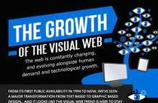 Photo-Dominant Web Graphics - 'The Growth of the Visual Web' Shows the Popularity of Photos Online