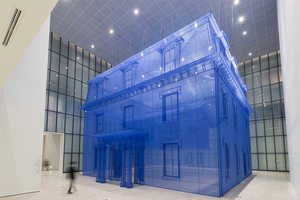 Homes Made Of Silk By Do Ho Suh Form a Transparent Inception