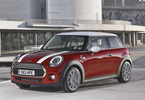 Speedy Diminutive Roadsters - BMW Unveils the New MINI Cooper for 2014