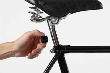 Magnetic Cycle Lights - The Lucetta Bike Lights are Easy to Install and Remove Between Uses