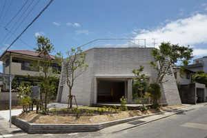 The Shirasu House Has a Flat Top and Whimsically Angular Walls