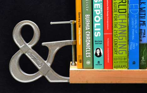 Typographic Handyman Tools - True to its Form, the Clampersand Provides More than You