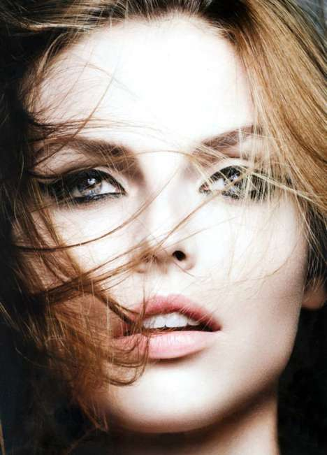 Sultry-Eyed Cosmetic Editorials - The Dior Magazine FW13 Photoshoot Stars Model Karlina Caune