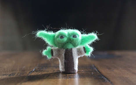 Sci-Fi Felted Figurines - Don Nguyen Created a Series of Felt Star Wars Figures