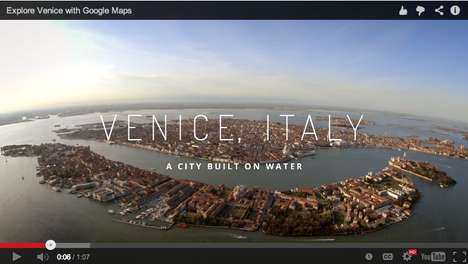 Exotic Italian Virtual Tours - Google Street View Whisks You Away On A Virtual Tour Venice-Stlye