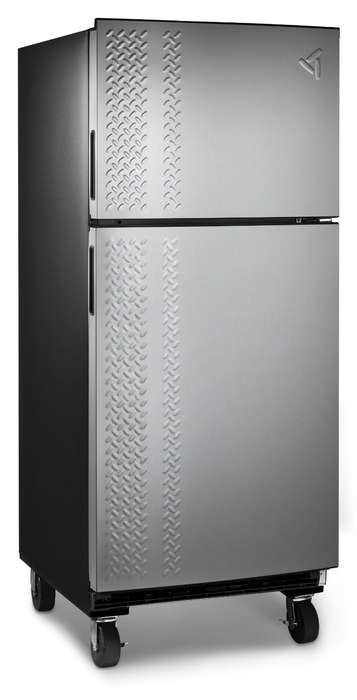 Luxe Industrialized Garage Fridges - The Gladiator Chillerator is a Fridge Designed for a Garage