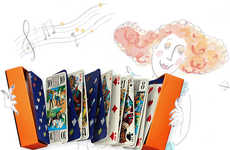 Luxurious Tarot Cards - The Hermes Parade Series is Designed for the Stylish Spiritualist