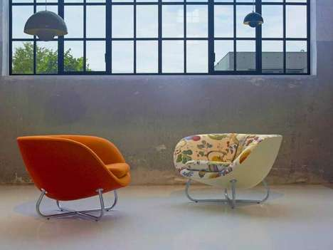 Low Retro Loungers - These Stylish 70's Lounge Chairs Were Design for Erik Jorgensen