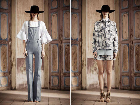 Fierce Folk-Inspired Fashion - The Philosophy Resort 2014 Collection Makes Old Looks Shine