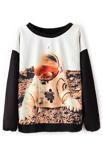 Space-Exploring Sweatshirts - These Astronaut Print Sweatshirts are Out-of-this-World