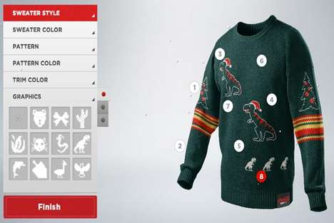 """ugliest christmas sweater"""