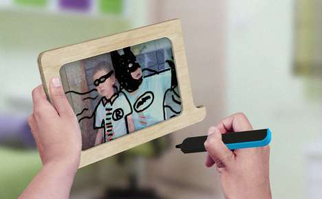 Doodle-Encouraging Frames - The Vandalijst Invites You to Scribble on Pictures for Fun