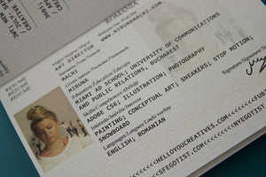 Art Student Miruna Macri Deliberately Loses Fake Passports to Find a Job
