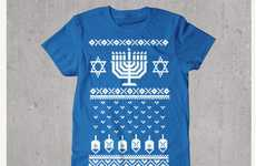 Purposely Unappealing Hanukkah Shirts