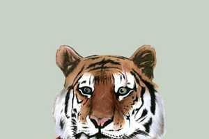 These Ryan Berkley Art Works Personify Wild Creatures