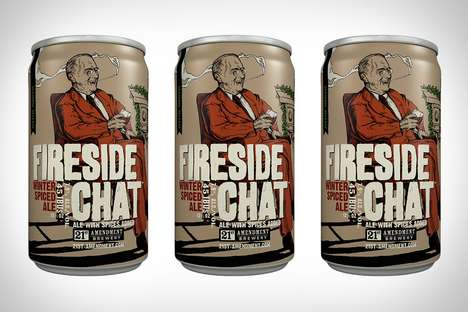 Winter Spiced Ales - The Fireside Chat Beer by 21st Amendment Brewery is Deliciously Cozy