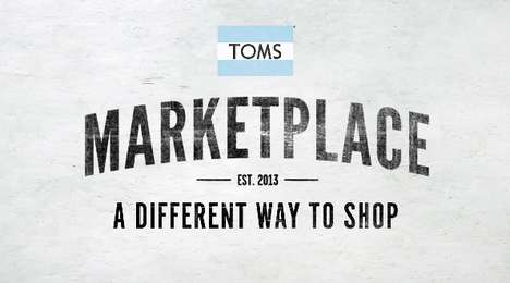 Socially Conscious eShops - TOMS Marketplace Features 200 Products That Create Change (SPONSORED)