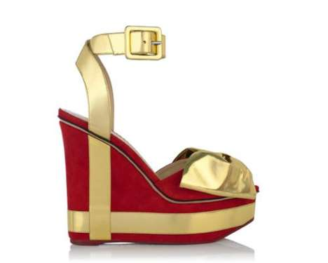 Holiday-Appropriate Pumps - These Charlotte Olympia Christmas Shoes are Perfect for Festivities