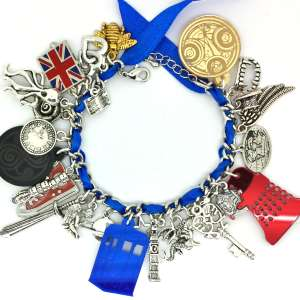 Geek-Chic Sci-Fi Charms - Canvas Warriors Lets Fans Customize Their Own Doctor Who Charm Bracelet