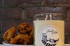 Mouthwateringly Meaty Candles - Fried Chicken Candle Smells Like 11 Herbs and Spices