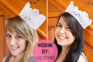 These Lace Headpieces are Perfect for Weddings or Any Special Occasion