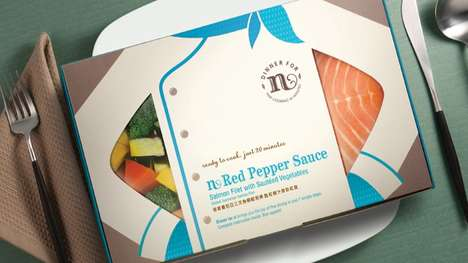 Chef-Prepped Frozen Meals - Dinner for N's Frozen Food Meals are Like Having a Chef of Your Own