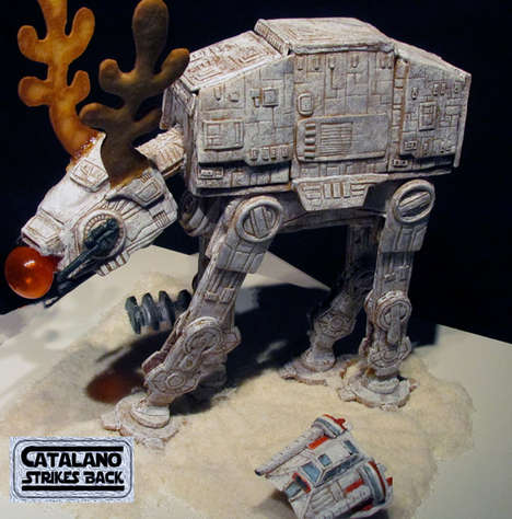 Massive Sci-Fi Gingerbread Structures - Magnolia Hotel Unveiled a Spectacular Star Wars Gingerbread
