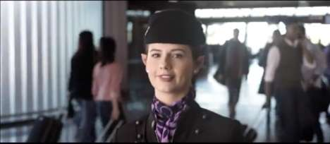 Fantasy Film Airplane Ads - The Air New Zealand Commercial Pays Tribute to the Upcoming Hobbit Film