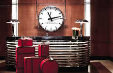 Iconic Hotel Luggage Collections - The Chatwal Hotel Dives into a Designer Luggage Line