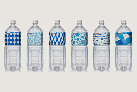 13 Bottled Water Packaging Innovations - From Lush Beverage Branding to Haute Couture Water Vessels