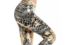 Shimmering Serpent Stockings