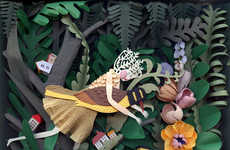 Fairy Tale-Like Paper Art - The New Work by Elsa Mora is Romantically Intricate
