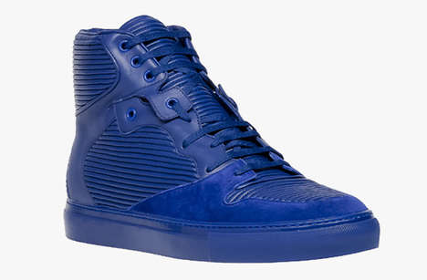 Sleek Monochromatic Kicks - The Balenciaga Holiday 2013 Collection Features Some Great Sneakers