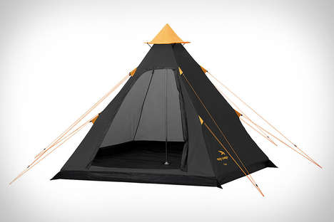 Simple Modernized Teepees - The Easy Camp Tipi Tent Updates an Old-School Shelter