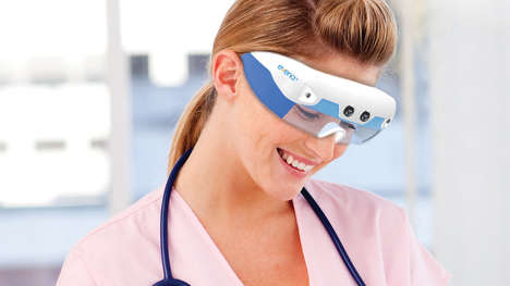 Superman X-Ray Eyewear - The Eyes-On Glasses System by Evena Medical Sees Through Skin