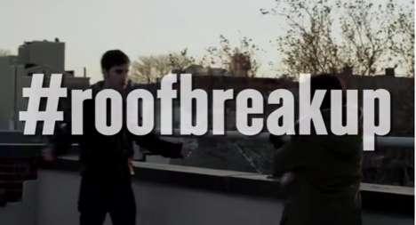 Social Media Breakup Reenactments - The Rooftop Breakup Has Gone from Live-Tweet to Viral Video