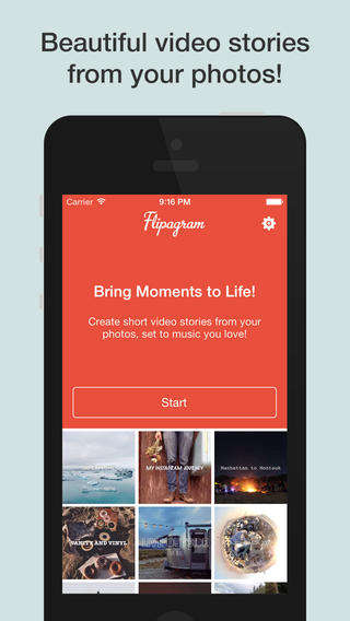 Insta-Photo Flipbook Apps - The Flipagram App Turns Instagram Photos into Cool Video Flipbooks