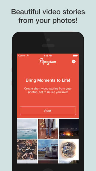 Insta-Photo Flipbook Apps