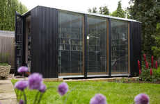 A Cozy Library Built by 3rdSpace in a Backyard