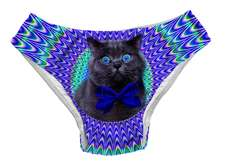 35 Crazed Cat Lady Fashion Items - From Collaged Cat Sweaters to Feline Wedding Rings