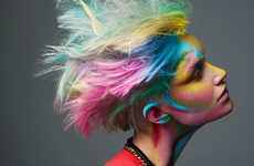 100 Wild Multi-Colored Designs - From Colorful Ink Bath Shoots to Playful Holiday Beauty Looks