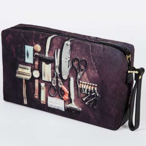 Retro Barber Shop Bags - This Paul Smith-Designed Toiletry Bag Will Take You Back