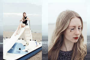 Paul Aidan Perry Captured 'The Seaside' Starring Model Anna