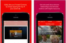 Life-Saving Domestic Abuse Apps - The Aspire News App Helps Victims of Domestic Violence