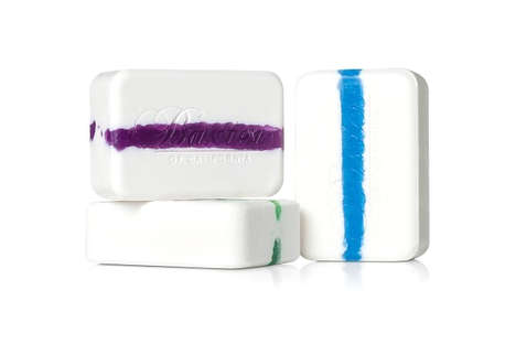 Colorfully Streaked Soaps - Baxter of California Vitamin Cleansing Bars are Stylish and Clarifying